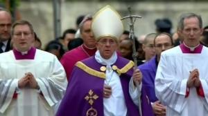 Pope Francis, Ash Wednesday 2